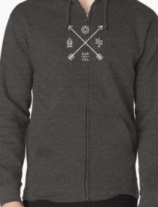 WoW Brand - Survival Hunter Zipped Hoodie