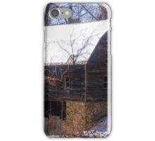 Abandoned Farm Structure iPhone Case/Skin