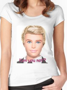 Ken Doll Women's Fitted Scoop T-Shirt