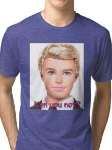 Ken Doll Tri-blend T-Shirt