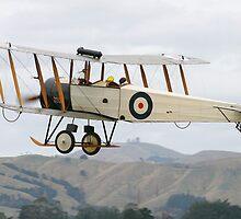 Avro 504 by Mike Warman