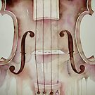 G D A E notes on a violin © 2009 patricia vannucci  by PERUGINA