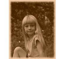 081909-26  DEVIL OR ANGEL ? Photographic Print