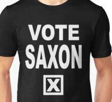 Vote Saxon [White Lettering] Unisex T-Shirt