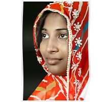 The Beauty in Sari Poster