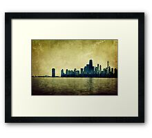 I Will Find You Down the Road Where We Met That Night Framed Print
