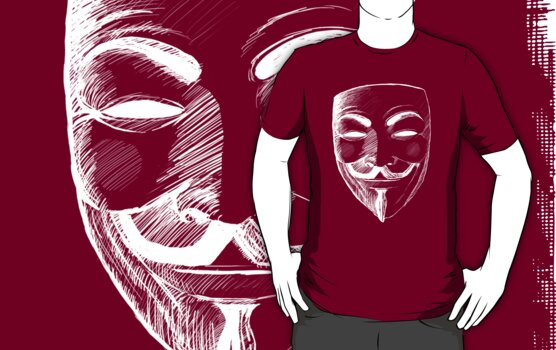 V for Vendetta (Inverted Colors) by Thorigor