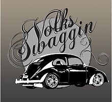 "Volks ""Swaggin"" Beetle © by BlulimeMerch"