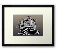 "Volks ""Swaggin"" Beetle Framed Print"