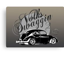 "Volks ""Swaggin"" Beetle © Canvas Print"