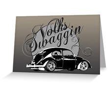 "Volks ""Swaggin"" Beetle © Greeting Card"