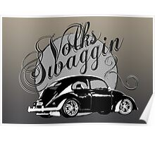 "Volks ""Swaggin"" Beetle © Poster"
