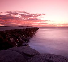 Sunrise Over Granite Island by Darryl Leach