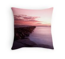 Sunrise Over Granite Island Throw Pillow
