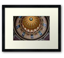Capitol Dome (Lansing, Michigan) Framed Print