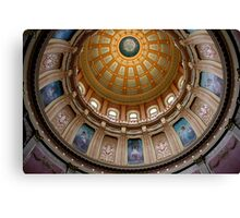 Capitol Dome (Lansing, Michigan) Canvas Print