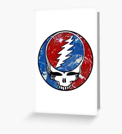 Dead Head Greeting Card