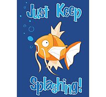 Magikarp: Just Keep Splashing Photographic Print