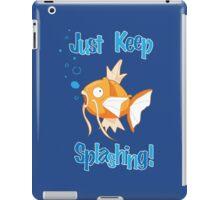 Magikarp: Just Keep Splashing iPad Case/Skin