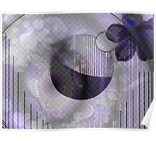 Purple galaxy dream Poster