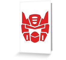 AutoBirds Greeting Card