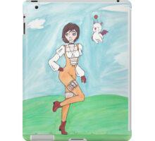 Watercolor Garnet iPad Case/Skin