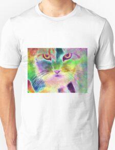 The Psychedelic Feline Unisex T-Shirt