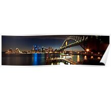 Sydney Harbour Panaroma Poster