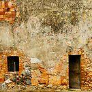 Italian Walls IV by Harry Oldmeadow