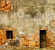 Italian Walls IV by Harry Oldmeadow