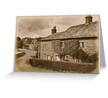 Downham a village unchanged Greeting Card
