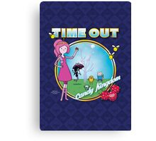 Time Out: Candy Kingdom Canvas Print