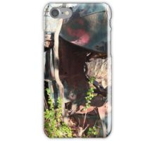 Car on side iPhone Case/Skin