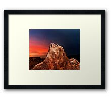 Alabama Hills 2. Framed Print
