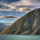 Ben Ohau at Dusk by Tony Burton