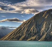 Ben Ohau at Dusk by Antony Burton
