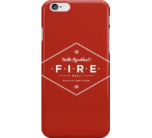 WoW Brand - Fire Mage iPhone Case/Skin