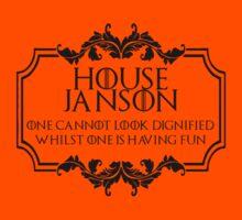 House Janson (black text) by houseorgana