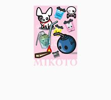Mikoto Collage Womens Fitted T-Shirt