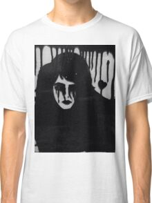 Ink on glass Depressed woman  Classic T-Shirt