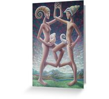 shell suits Greeting Card
