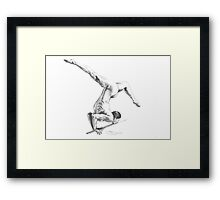 Art of the Gymnast Framed Print
