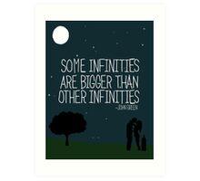 Some Infinities Art Print