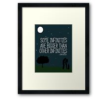Some Infinities Framed Print