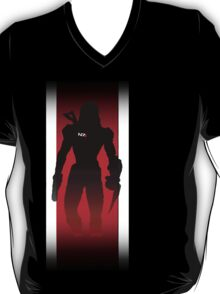 Commander Shepard of the Normandy T-Shirt