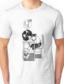 Nazo no Kanojo X (Mysterious Girlfriend X) Sleeping Urabe Unisex T-Shirt