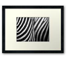 I'm a natural piece of abstract art Framed Print