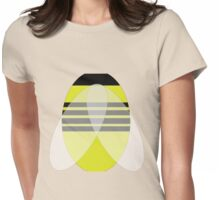 Honey Bee Natural Womens Fitted T-Shirt