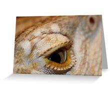 Eye of the Dragon Greeting Card