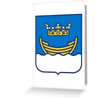 Helsinki Coat of Arms Greeting Card